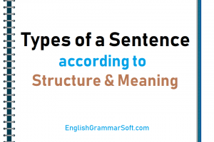 types of a sentence with examples