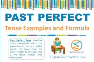 Past Perfect Tense with Examples