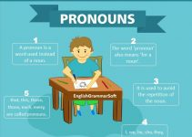 What does pronoun mean