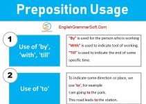 preposition usage and examples