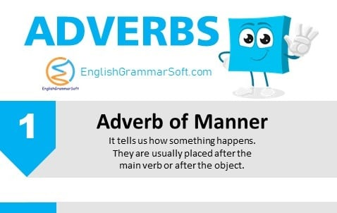 what does adverb mean