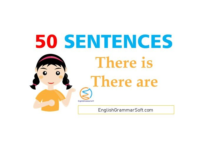 There is - There are Sentences - 50 Examples