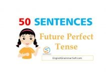 future perfect tense sentences