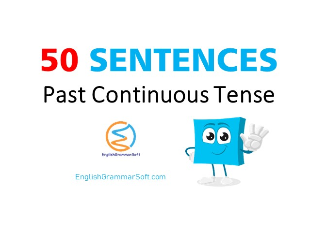 past continuous tense sentences