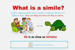 What is a simile in literature - Simile Examples