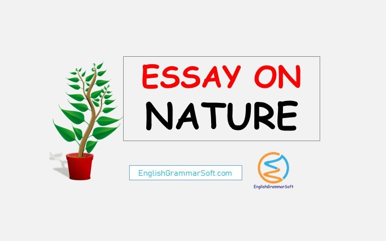 essay on nature in English