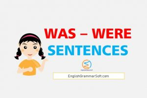 was were sentences - 50 examples