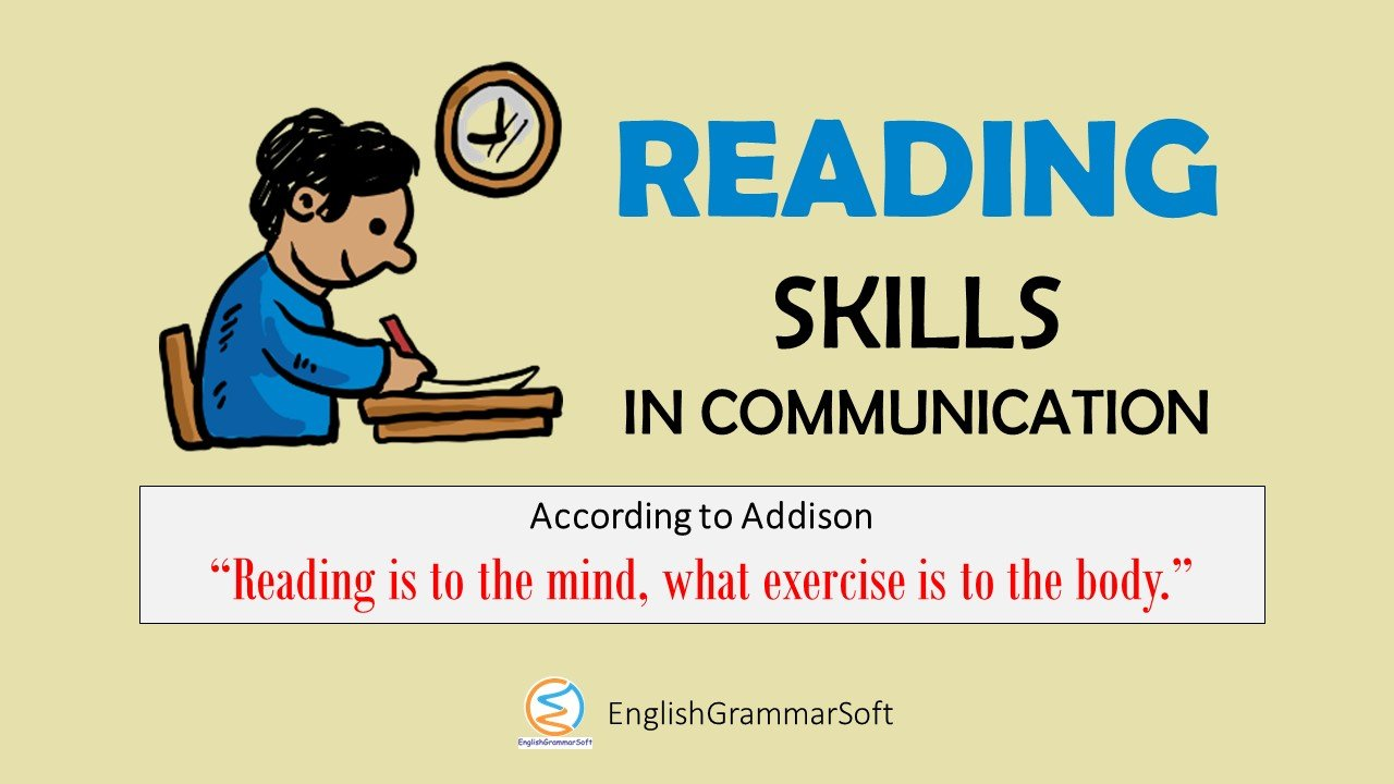 Reading Skill in Communication