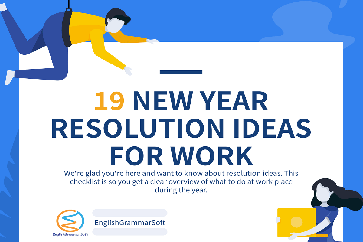 New Year Resolution Ideas for Work