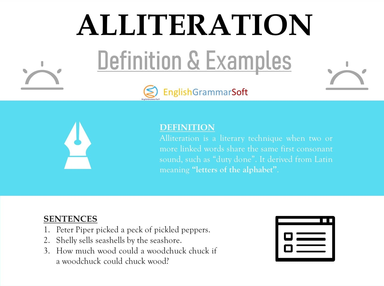 Alliteration Definition and Examples in Literature
