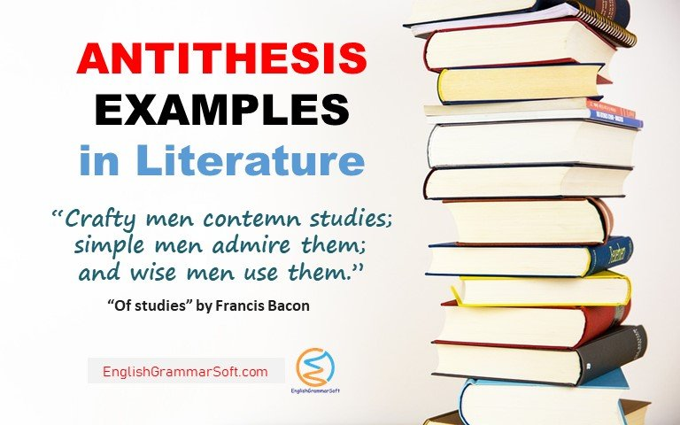 Antithesis Examples in Literature