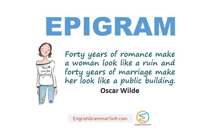 what is epigram in figure of speech