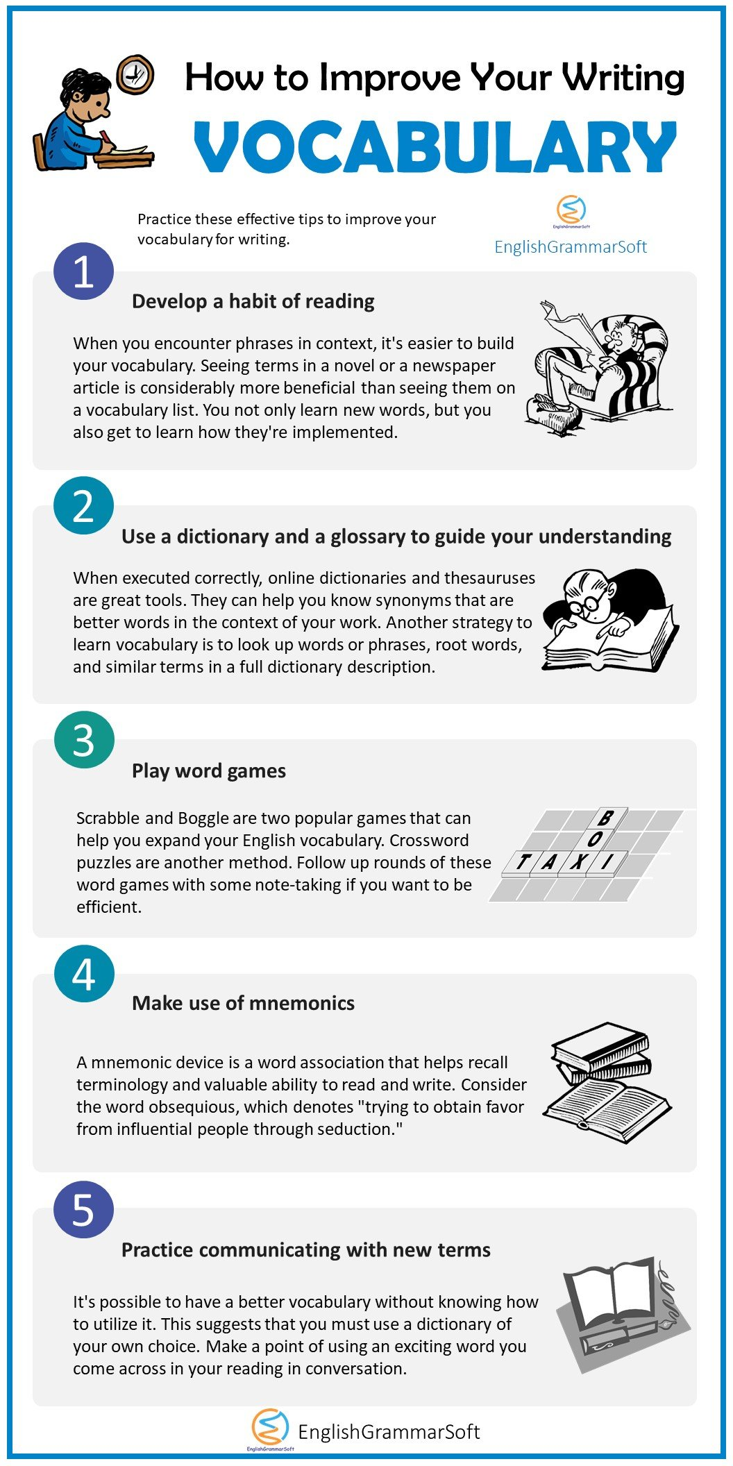 How to Improve Your Writing Vocabulary in 5 Effective Ways