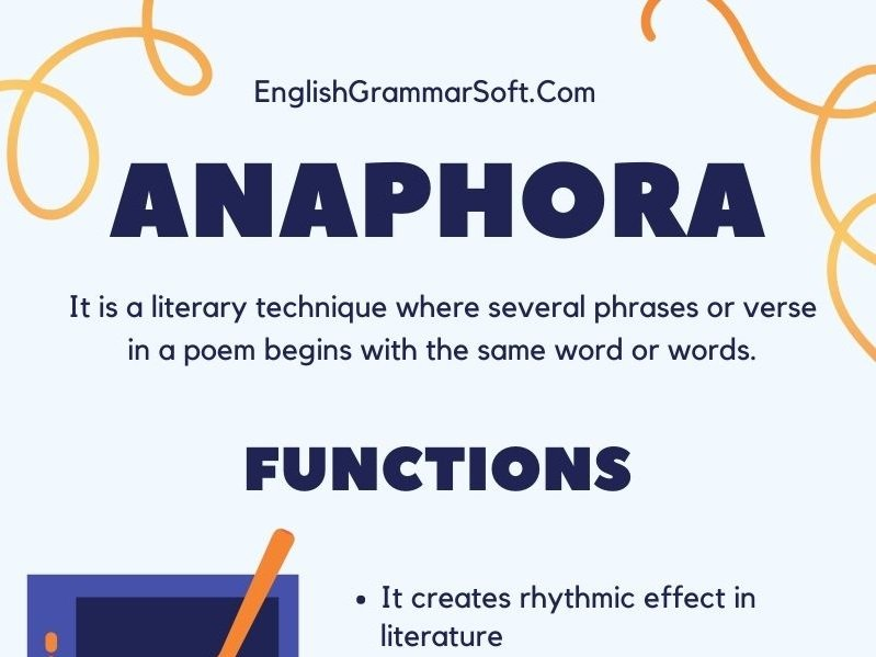 Anaphora Examples & Use in Poetry