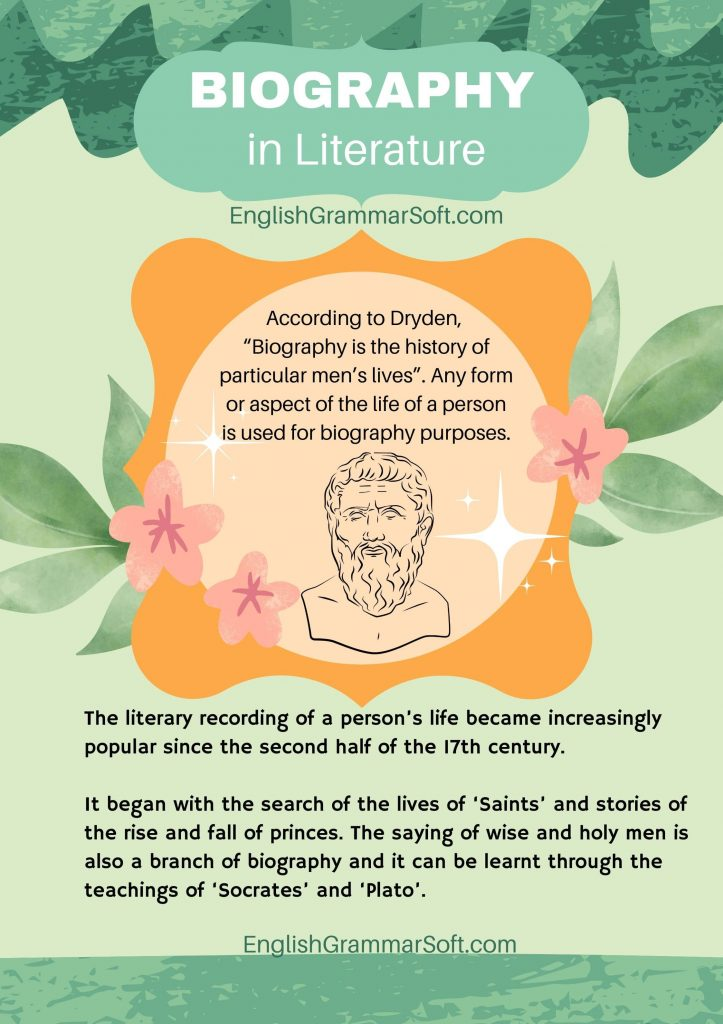 Biography in Literature (definition and examples)