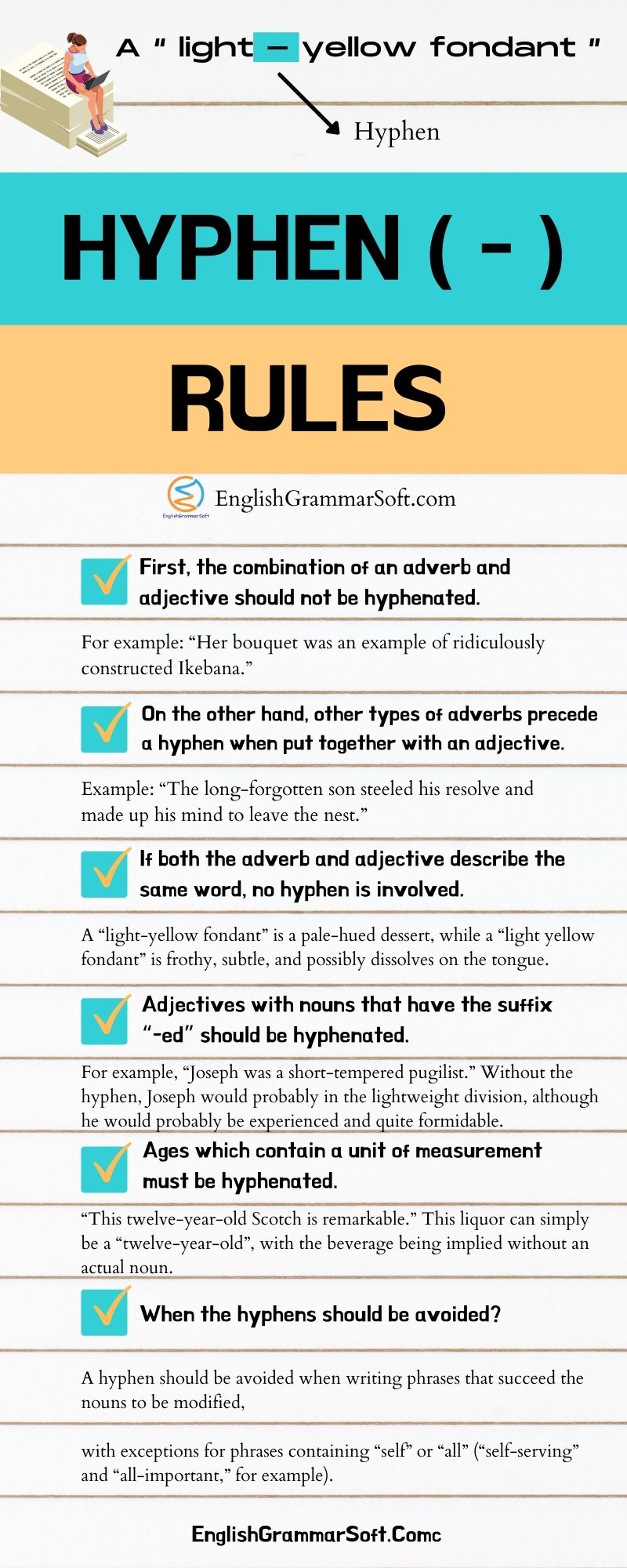 Rules for Hyphen Use
