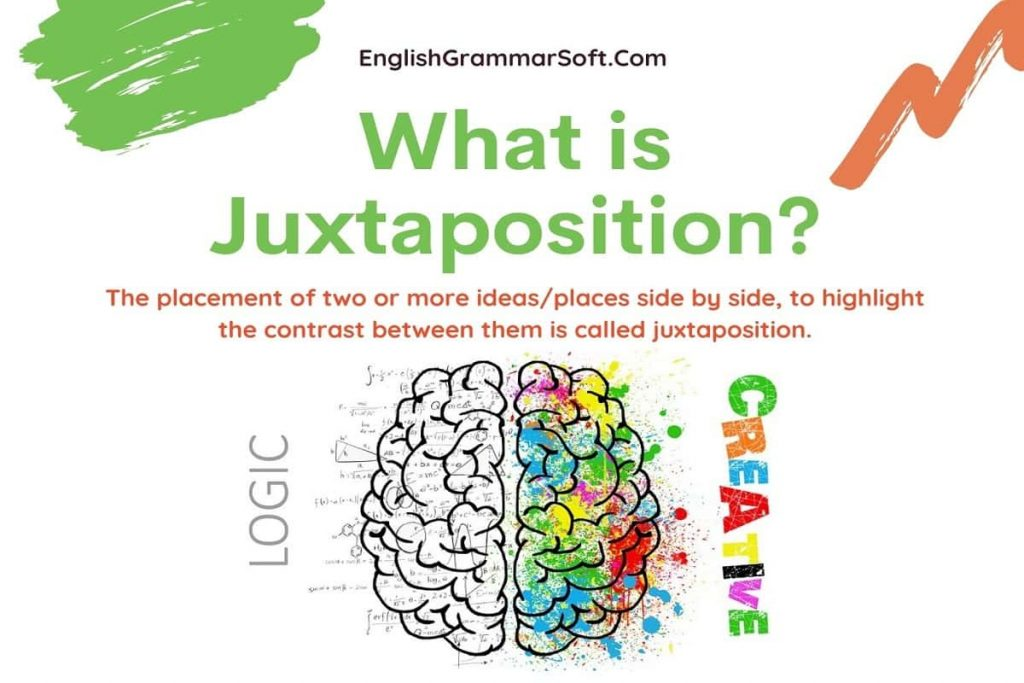 What is Juxtaposition Examples in Literature and Definition
