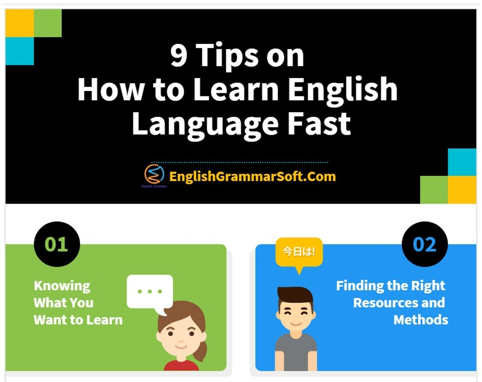 9 tips on how to learn English fast