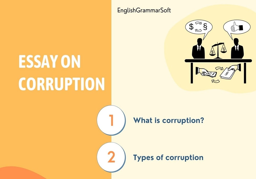 Essay on Corruption Causes & its Effects