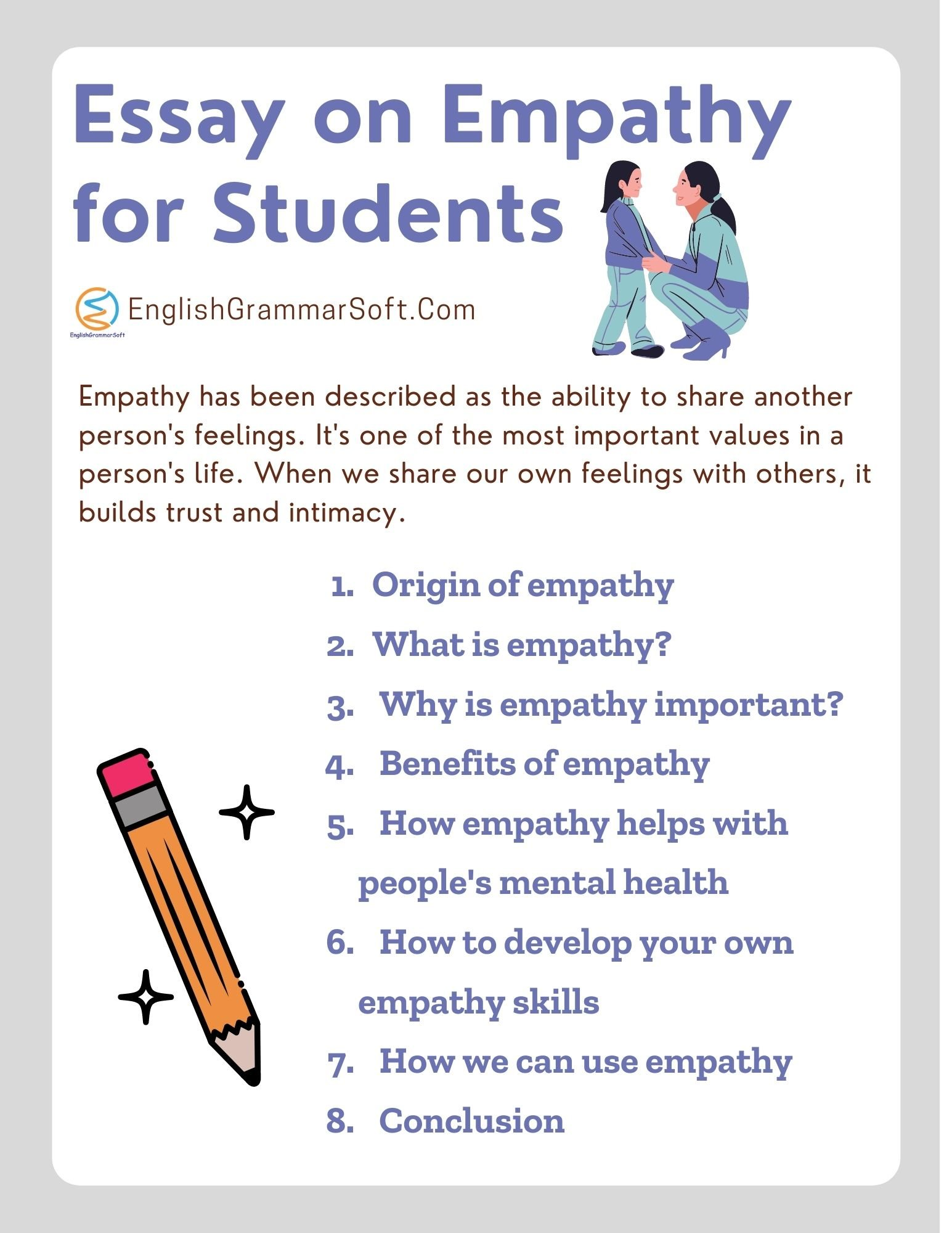 Essay on Empathy for Students