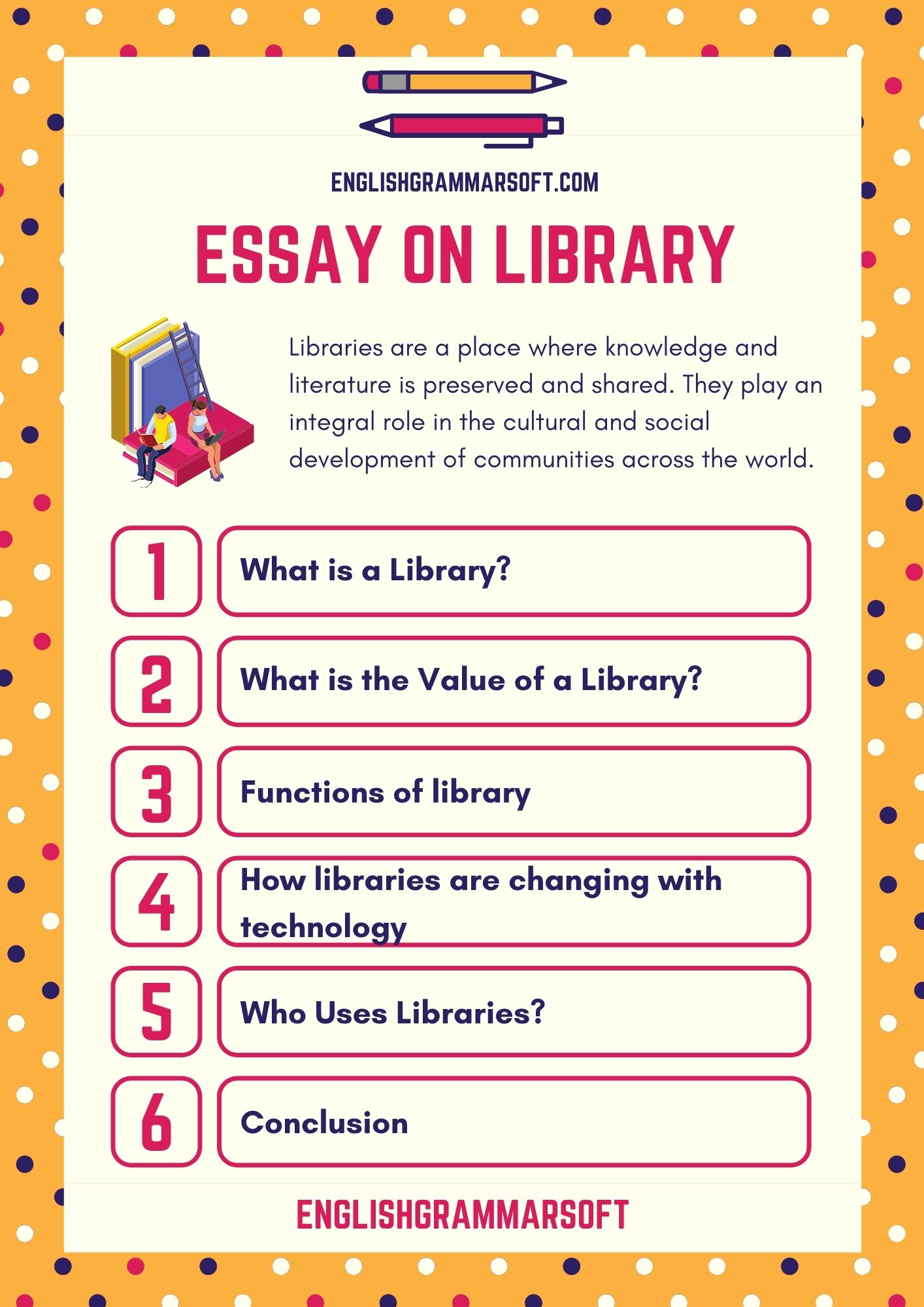 Essay on Library