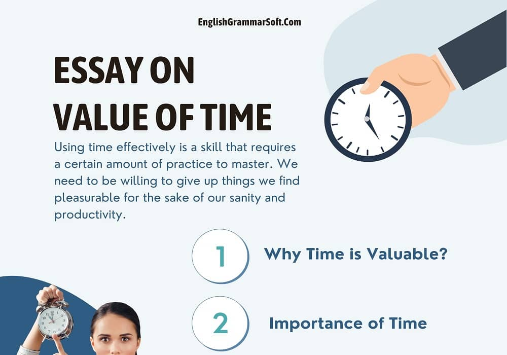 Essay on Value of Time