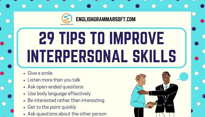 Tips to Improve Interpersonal Skills