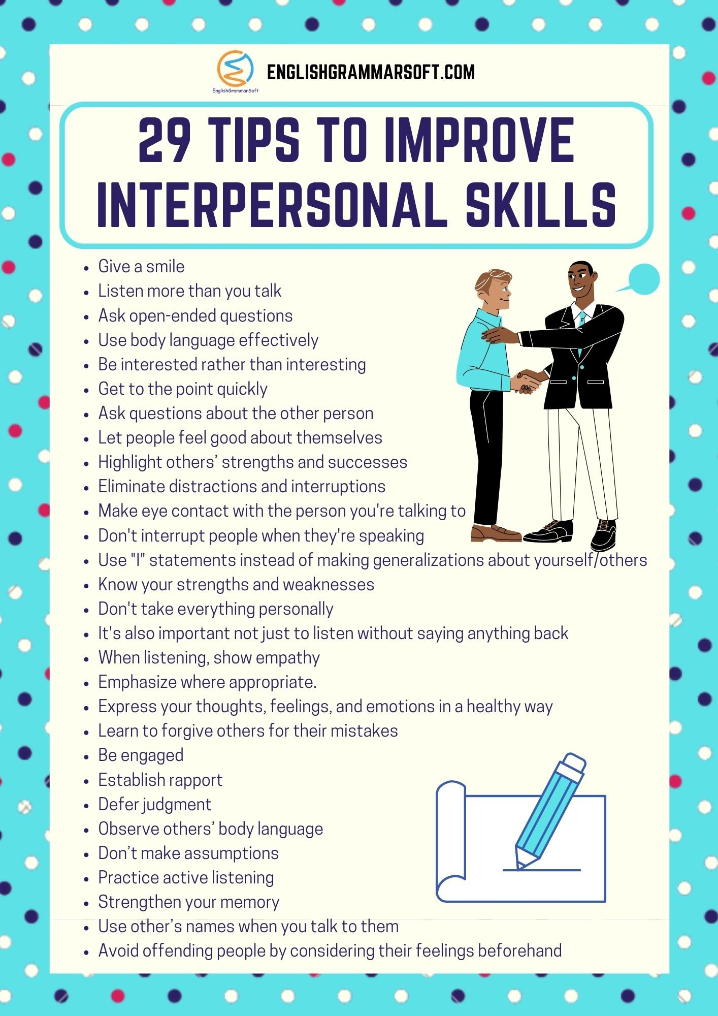 29 Simple Tips to Improve Interpersonal Skills